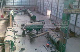 Neimeng Organic Fertilizer Production Line Installation Site