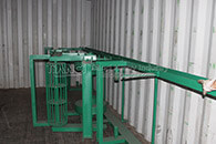 delivered large angle belt conveyor
