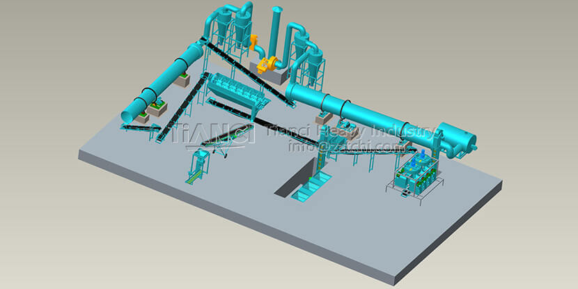 Roller Press Granulator Production Line